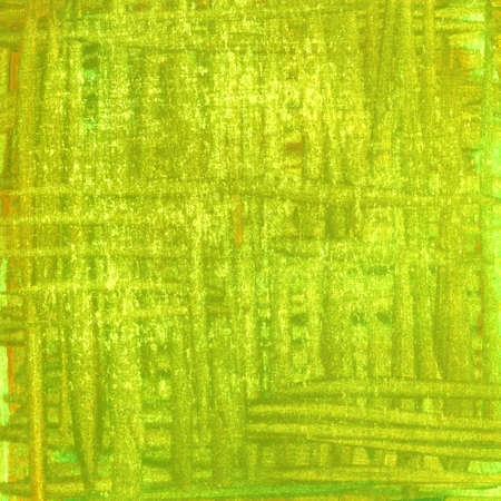 patchy: olive green, patchy hand painted watercolor abstract with scratch texture, self made Stock Photo