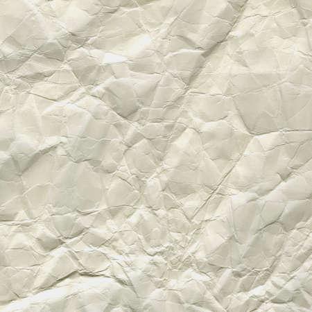 グランジ、しわ、しわや折り目ホワイト ペーパー バック グラウンド 写真素材