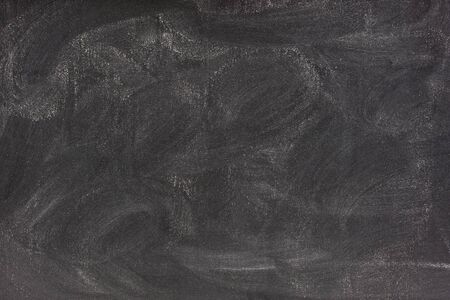 smudge: blank blackboard with white chalk dust and strong smudge patterns