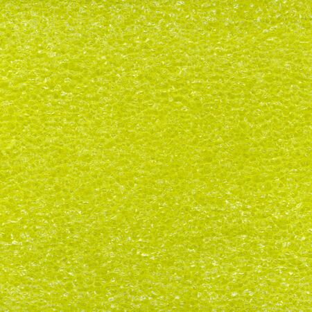 flotation: texture of yellow closed-cell plastic foam used as flotation Stock Photo