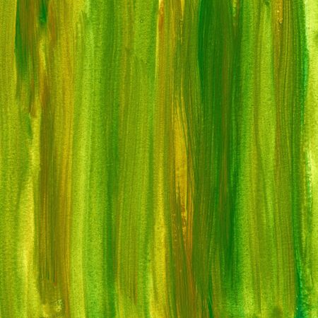 green and brown watercolor abstract background painted with vertical brush strokes, self made Stock Photo - 5636049