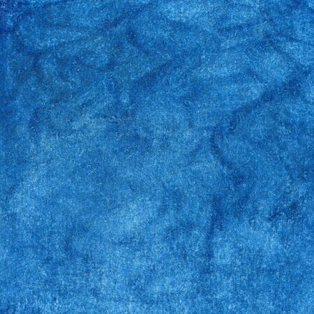 blue watercolor painted abstract with scratch paper texture, self made Stock Photo - 5666116