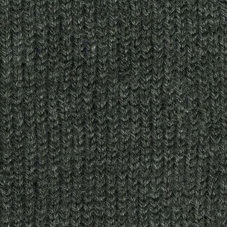 acrylic fiber: close-up of dark gray handmade knitted sweater texture, wool with acrylic fiber
