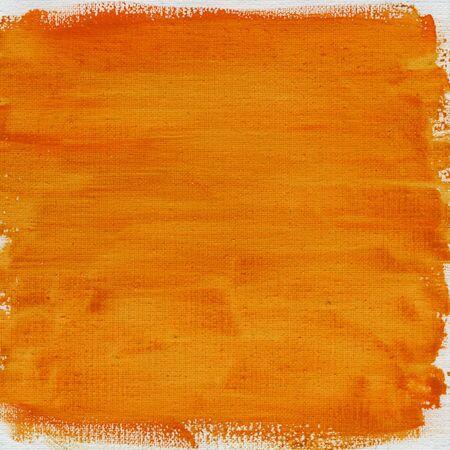 nonuniform: texture of nonuniform orange yellow watercolor abstract on cotton canvas, rough edges, self made