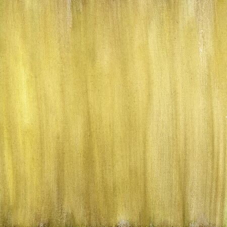 smudge: yellow and brown  watercolor painted abstract on artist canvas, vertical smudge pattern, self made by photographer