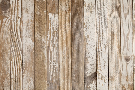 weathered: grunge wood background with old white paint