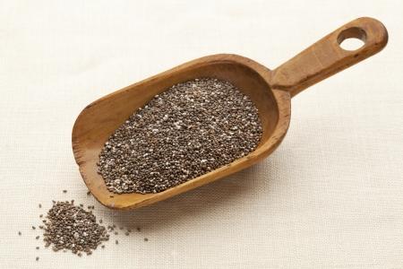 chia seeds scoop