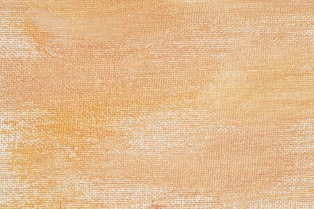 yeloow: delicate yeloow and orange (peach color)  abstract texture painted on white artist canvas