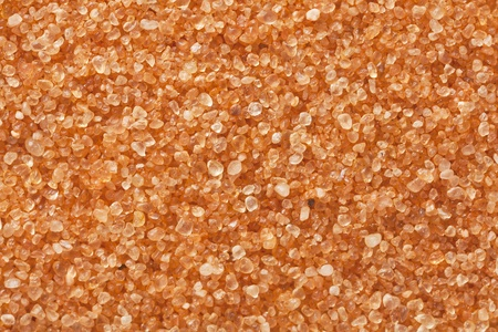 sand grains: sand grain at 3 times life-size magnification, a sample from Coral Pink Sand Dunes State Park, Utah