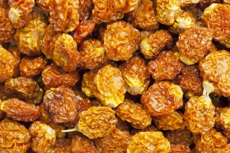 dietary fiber: dried goldenberries (physalis peruviana,) , superfruit from Peru rich in antioxidnats, vitamin A, bioflavonoids, and dietary fiber