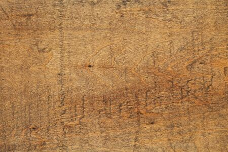 grunge wood surface finished with oil -  texture background