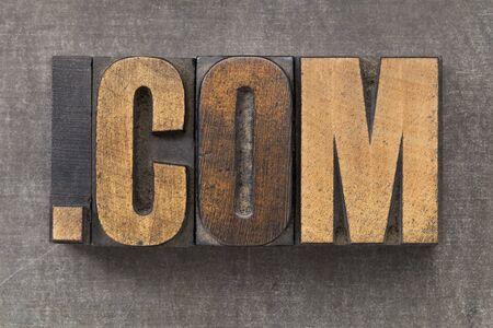 dot com: dot com internet domain