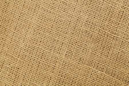 brown burlap fabric background texture with diagonal pattern Stock Photo - 15499367
