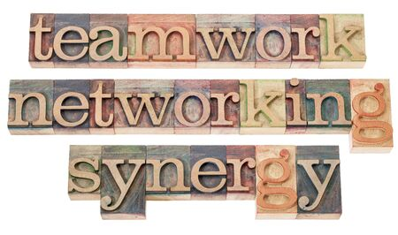 teamwork, networking and synergy Stock Photo - 15776583