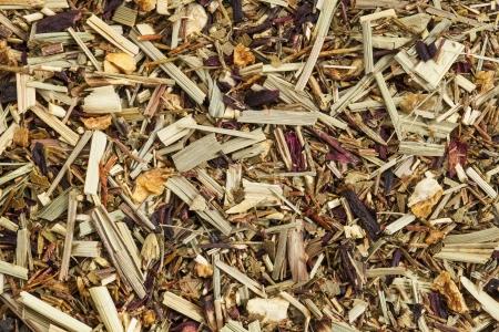 background texture of lemongrass organic tea, caffeine free Stock Photo - 17067691
