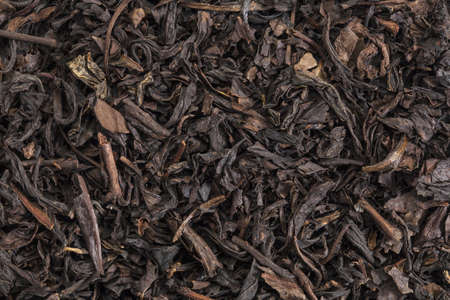 background texture of Se Chung Oolong organic loose tea Stock Photo - 17067692