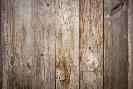 グランジ納屋の木製背景にノット、釘穴を風化 写真素材