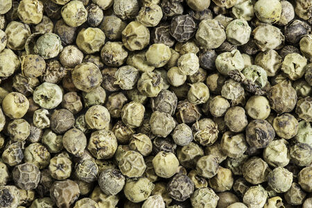 freeze dried: freeze dried green peppercorns and texture Stock Photo