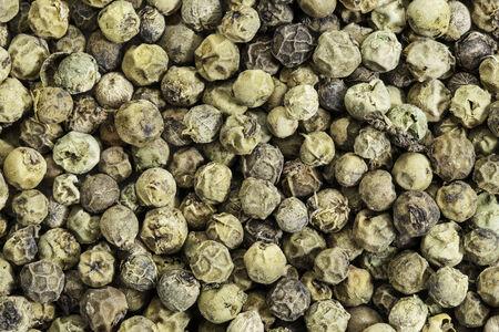 freeze dried: granos de pimienta verde congelar secos y de textura