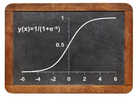 demografia: modelo de crecimiento limitado en una pizarra de la vendimia - funci�n log�stica con aplicaciones en las estad�sticas, la ecolog�a, la medicina, la demograf�a y otras ciencias