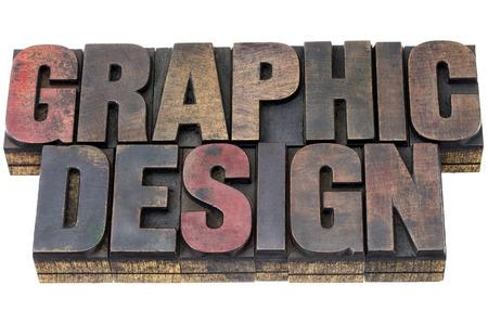 ビンテージ グランジ活版木製型インクで染色のグラフィック デザイン