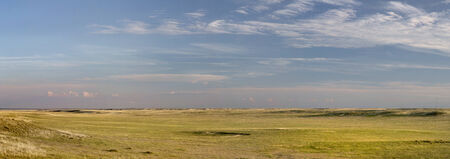 pawnee grassland: Pawnee National Grassland in northern Colorado  -  a panoramic view of short grass prairie in summertime