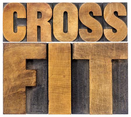 crossfit word 要約 - 活版木材の種類の分離のテキスト