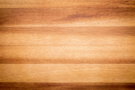 acacia wood texture background - board laminated from narrow planks Stock Photo