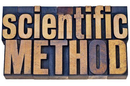 metodo cientifico: concepto de investigación en ciencias - - método científico resumen palabra aislada en bloques de tipo de tipografía de madera grunge