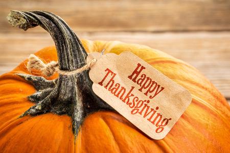 dynia: Dynia z Happy Thanksgiving metce papieru - zakupy koncepcji wakacje