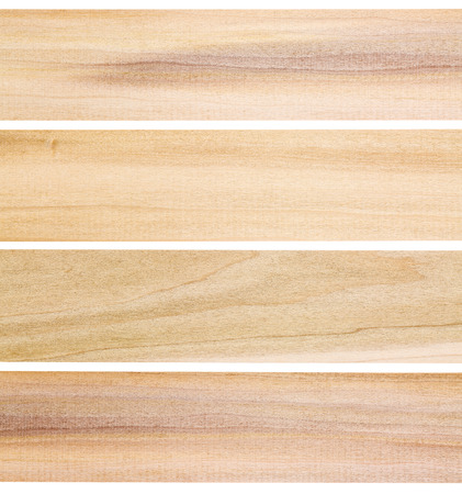 unfinished poplar wood texture - isolated  planks with delicate green and purple colors