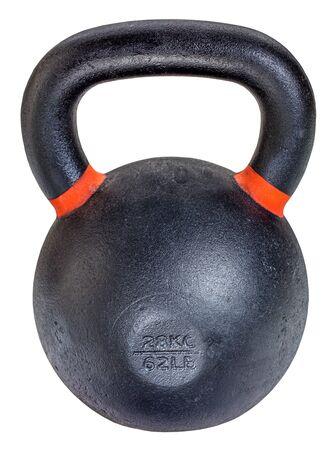levantamiento de pesas: Orin pesado 62 libras pesas rusas para la competencia de levantamiento de pesas y entrenamiento de la aptitud aislado en blanco