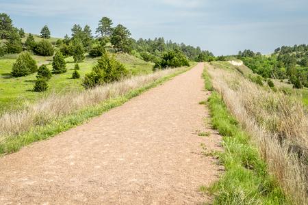 multi-use recreational Cowboy Trail in northern Nebraska