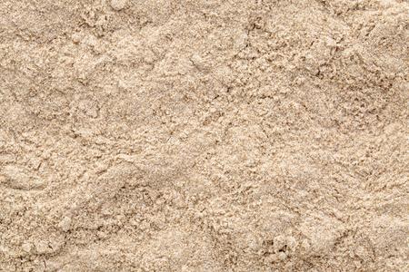 Background of gluten free brown teff flour Stock Photo