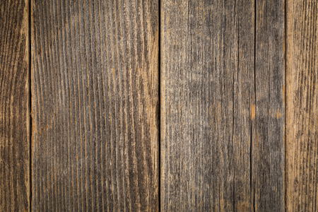 Texture of old, grunge, weathered,  wooden barn planks with scratches