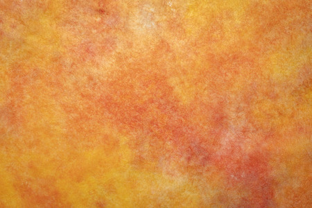 background of orange and red marbled momi paper Stock fotó