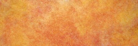background of orange and red marbled momi paper, panoramic banner Stock fotó