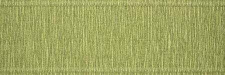 thick, soft and strong Italian crepe paper - green background with crinkled texture, panoramic banner