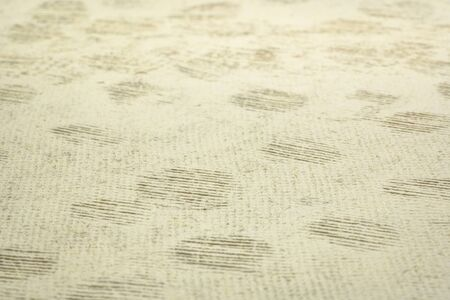 background and texture of white natural huun handmade paper with a selective focus