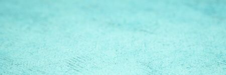 background and texture of blue huun handmade paper with a selective focus, long web banner Stock Photo