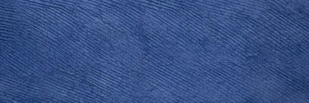 background and texture of blue handmade Huun paper created  by artisans throughout the Yucatan Peninsula of Mexico