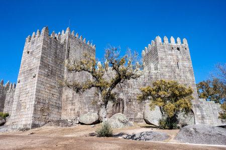 Castle in Guimaraes, in the district of Braga