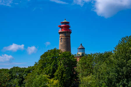 The two lighthouses at Cape Arkona on Rügen