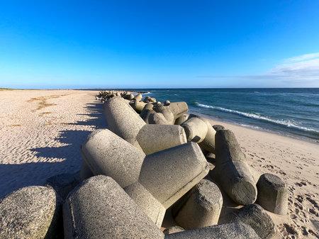 The beach on the island of Sylt
