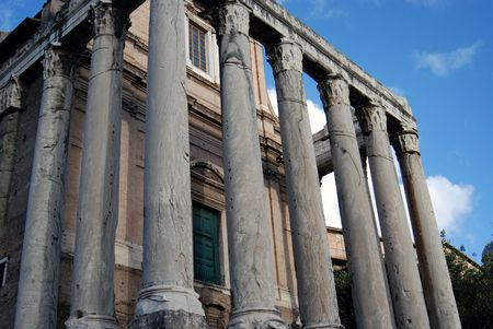Palatino Roma  Lizenzfreie Bilder