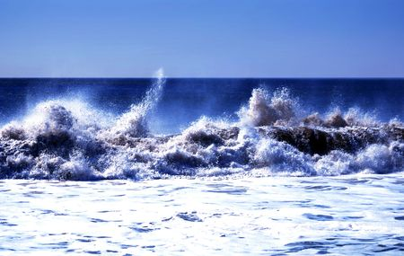 Waves Crashing Hard
