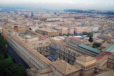 perspectiva lineal: Ciudad del Vaticano Roma Italia