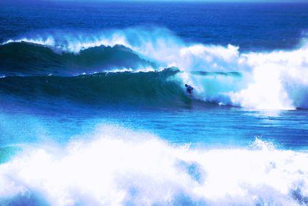 """the granola: """"Offshore"""" de tormenta est� creando grandes olas para el surf en Malib� y el sur de California."""