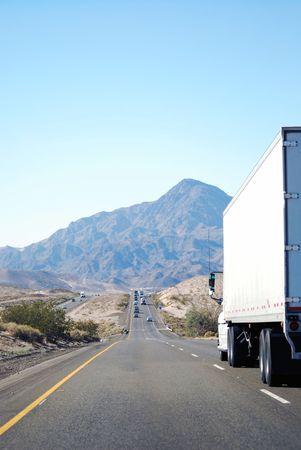 I15 west between Las Vegas, Nevada and Los Angeles, California