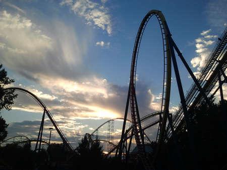 Coaster Silhouette Zdjęcie Seryjne